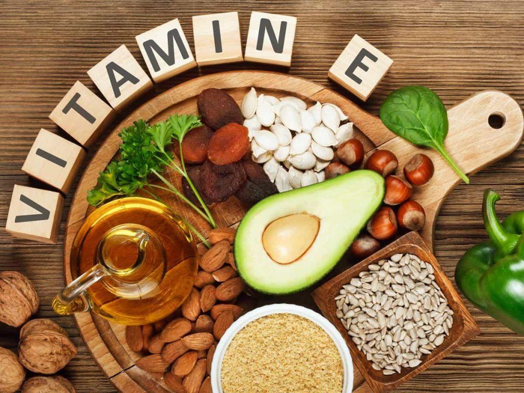 Продукты богатые витамином E
