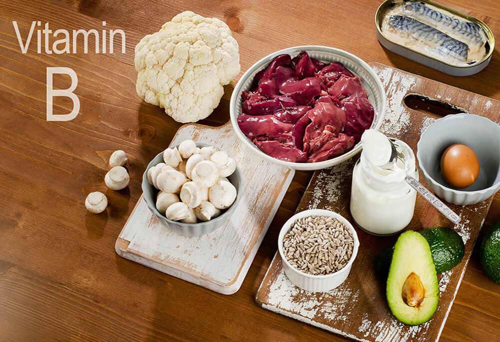 Продукты богатые витамином B