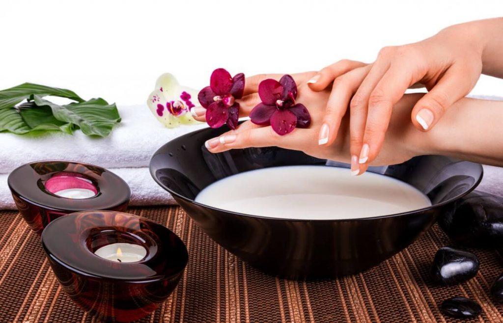 Процедуры по уходу за ногтями и их здоровье