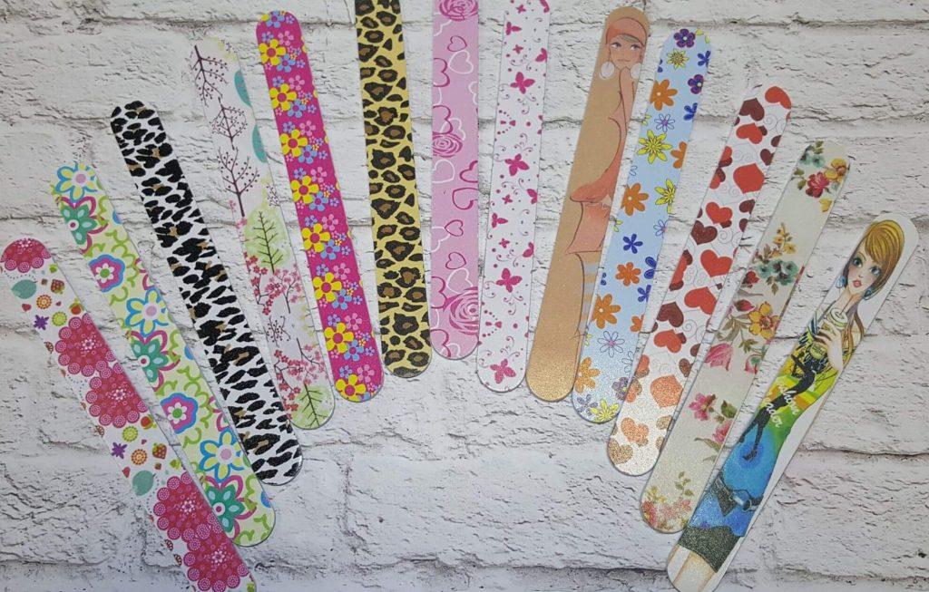 Пилочки для ногтей на картонной основе