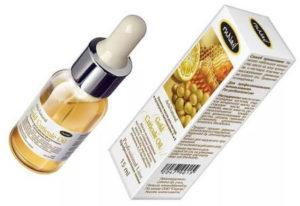 Ru Nail, золотое масло для ногтей и кутикулы