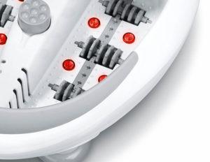 Как работает инфракрасный обогрев в гидромассажной ванночке
